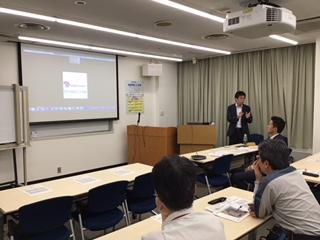 アミタのコンサルタントが、堺・泉北臨海企業連絡会 環境安全分科会で「環境業務のICT化による働き方改革、AMITA Smart Eco 体験会」を実施しました。