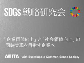 持続可能な開発目標(SDGs)」の戦略的活用を、13名のサステナブル経営の専門家と共創する、企業向け『SDGs戦略研究会』(全16回)を開催。