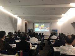 エコプロダクツ展2018にて、アミタ(株)がセミナーを開催。企業の経営企画、CSR部門の担当者を対象に、企業のサステナビリティ経営に関する情報を提供しました。