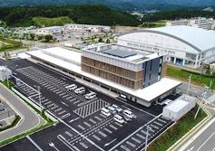 アミタ(株)が審査を実施した、宮城県南三陸町の「南三陸町役場・歌津総合支所新築工事FSC認証プロジェクト」への認証伝達式が行われます。(9月3日実施)