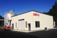 アミタ(株)のバイオガス施設「南三陸BIO」が南三陸町の生ごみに関する一般廃棄物処理業許可を新たに取得。町内ホテル・飲食店等の生ごみの資源化が可能に。